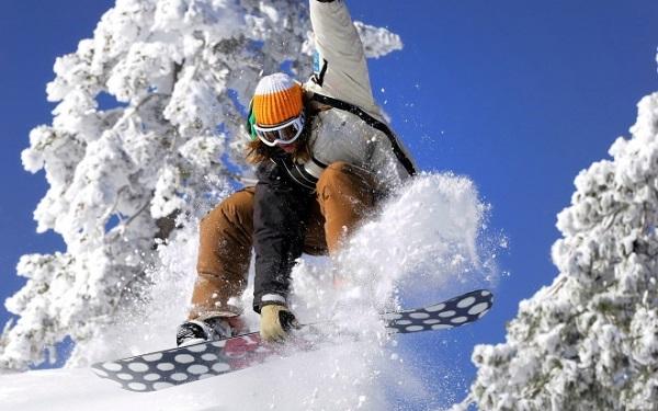 Активный спорт зимой