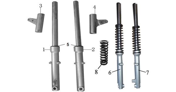 Передние амортизаторы: выбор амортизаторов для авто